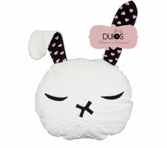 Big fluffy bunny pillow